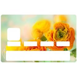 CB Fleur rose jaune