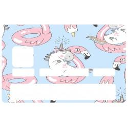 Sticker CB licorne