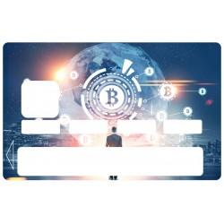 Sticker CB Bitcoin bourse
