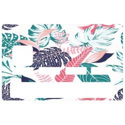 Sticker CB feuilles de palmier vertes