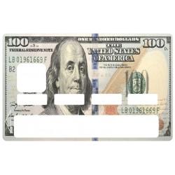 Autocollant CB billet dollar