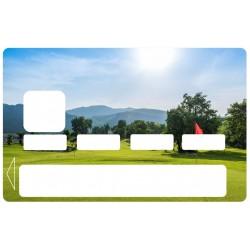 Autocollant CB golf