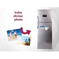 Sticker photo personnalisé