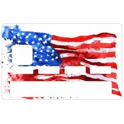 CB drapeau américain USA