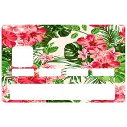 CB fleurs exotique