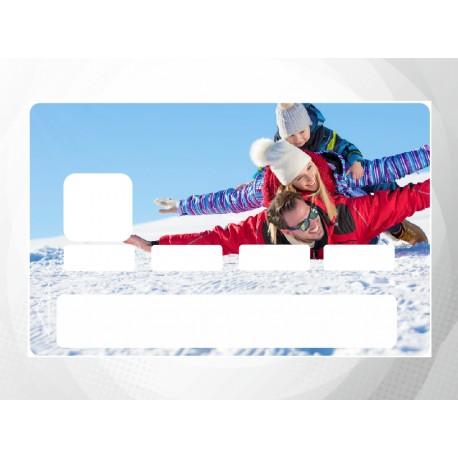 Sticker carte bancaire personnalisé