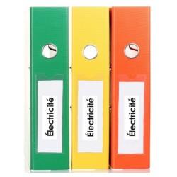 Etiquette classement administratif